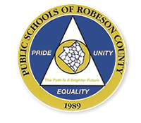 seal of the public schools of Robeson County