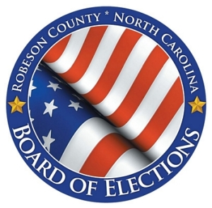 seal of the Robeson County Board of Elections