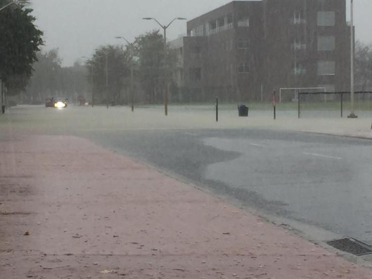 Campus Flooding